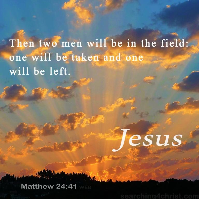 Matthew 24:41