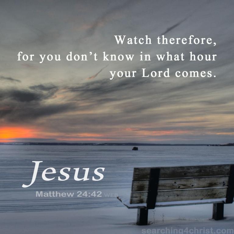 Matthew 24:42