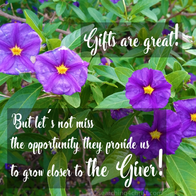 Gifts Or Giver