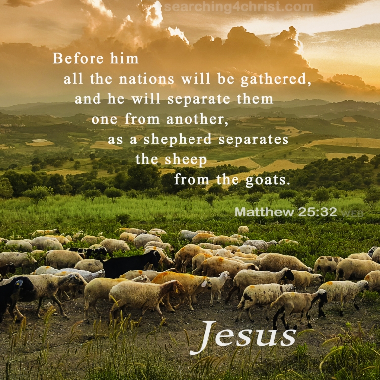 Matthew 25:32