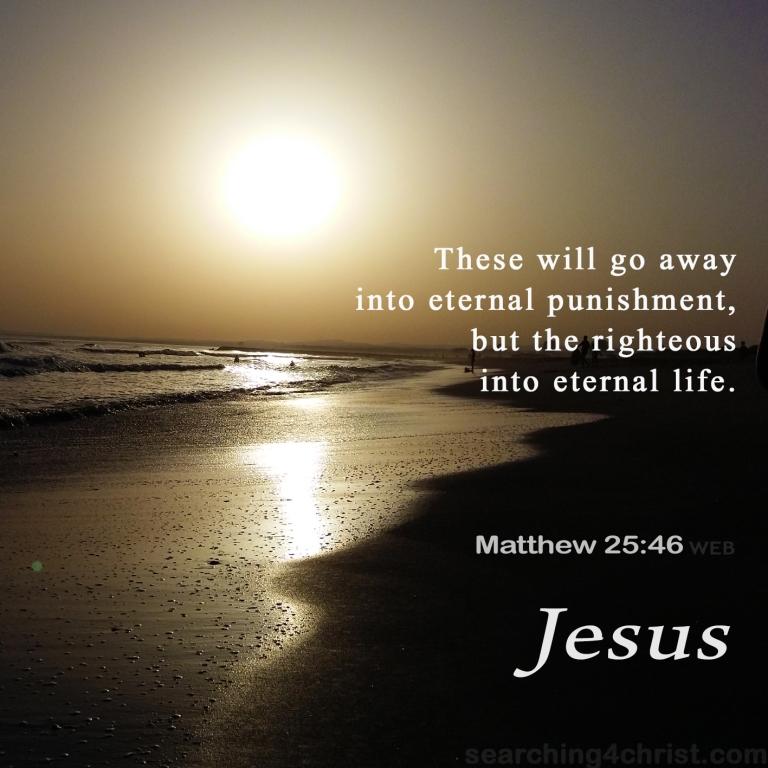Matthew 25:46