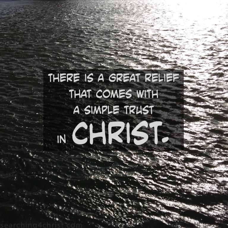 Great Relief in Trust
