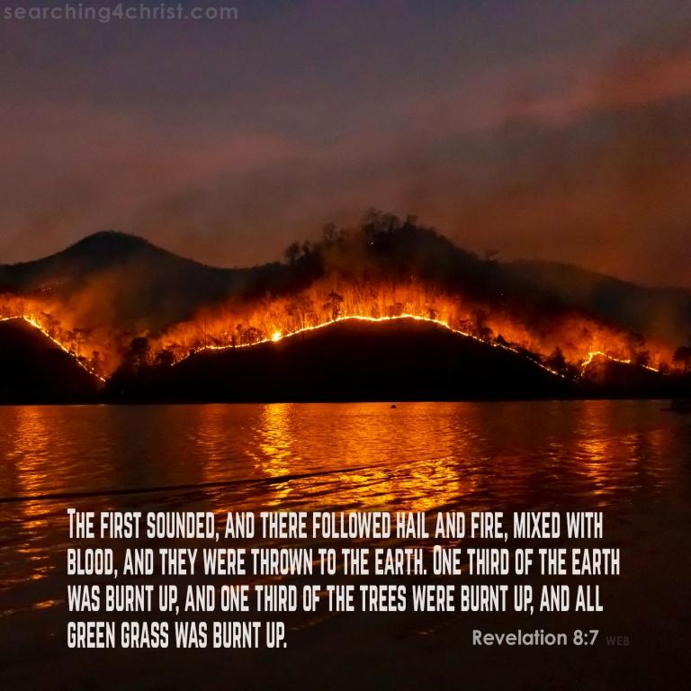 Revelation 8:7