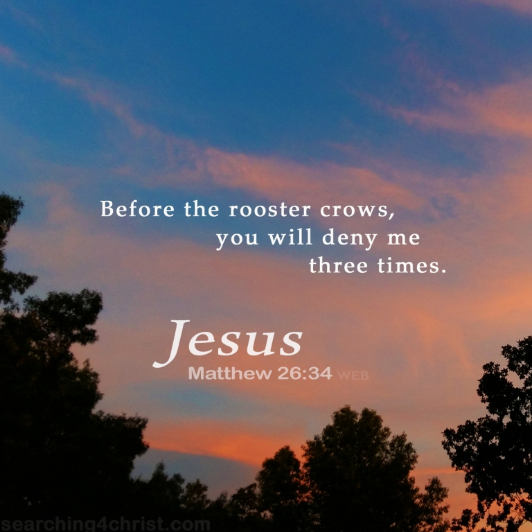 Matthew 26:34