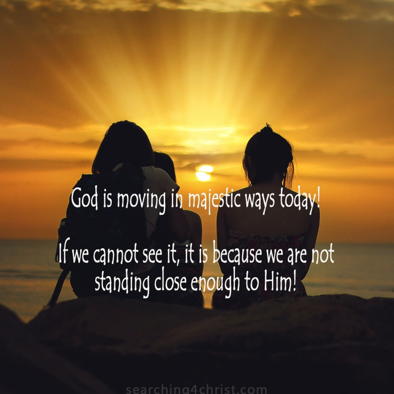 God Is Moving Today