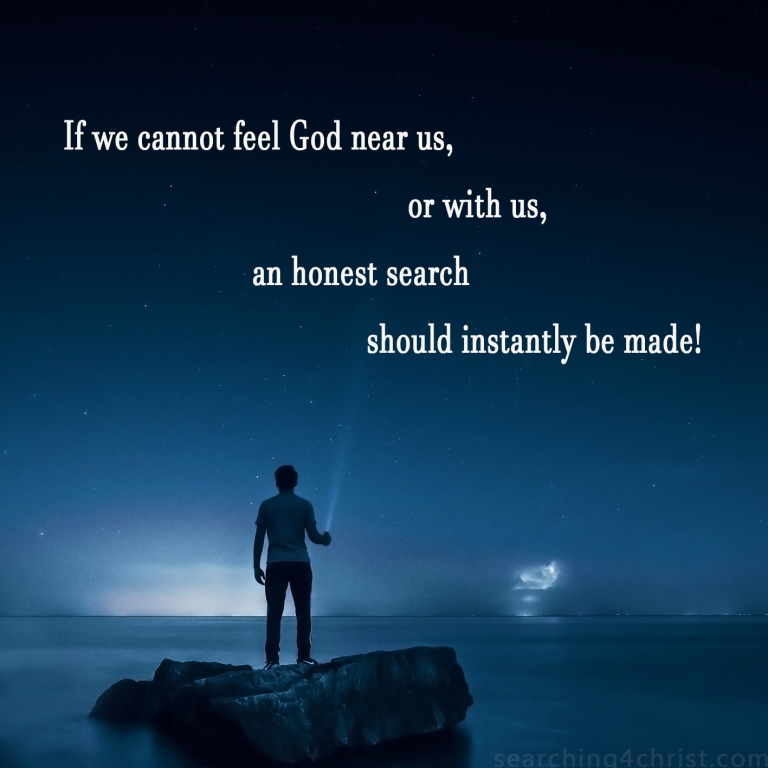 When God Is Not Felt