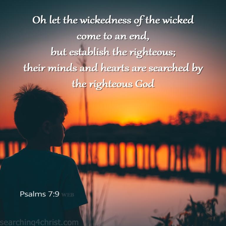 Psalm 7:9