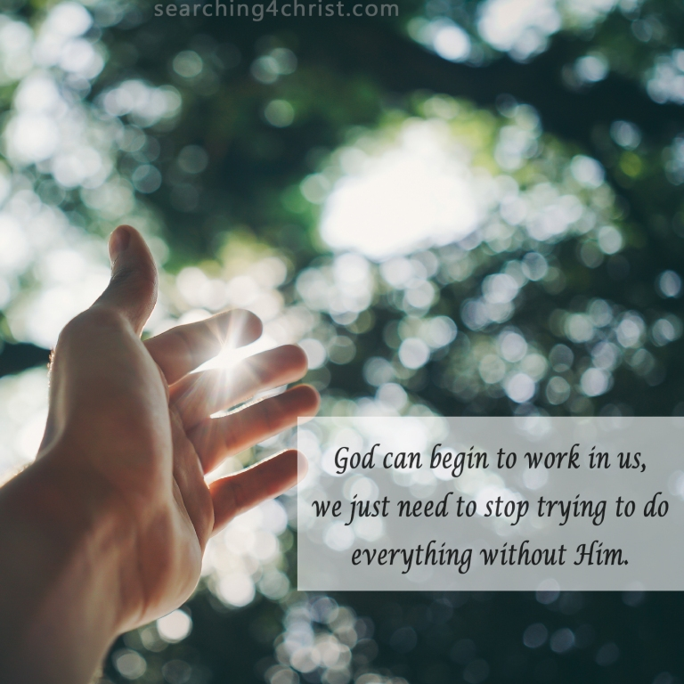 God Can Work in Us